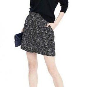 Banana Republic Tweed Mini Skirt Size 0